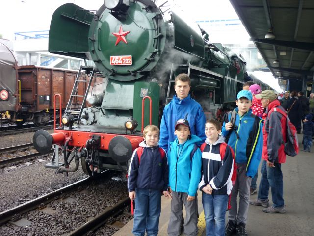 Výlet pro nejmenší mionistranty na den železnice